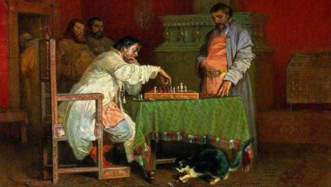 Шашки, шахматы: из средневековья в современность