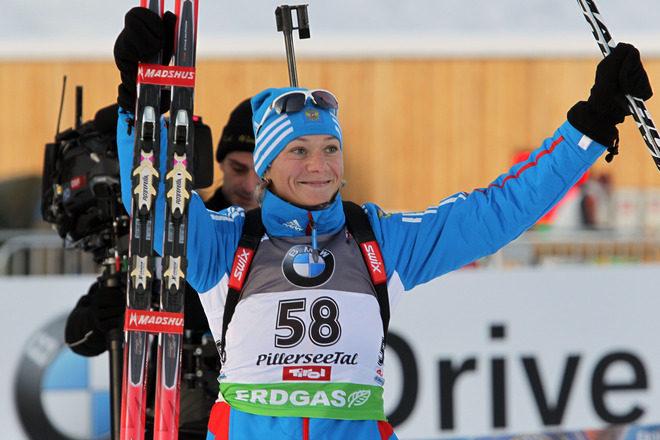 Ольга Алексеевна Зайцева – российская спортсменка, биатлонистка